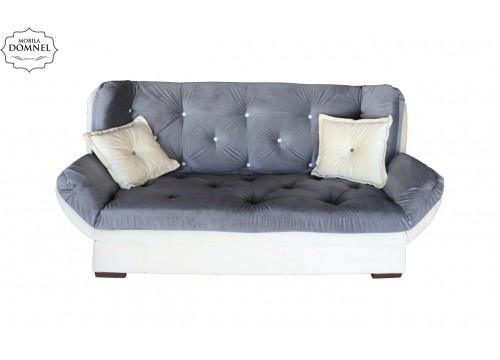 Canapea Extensibila 3 locuri Zara bej/gri