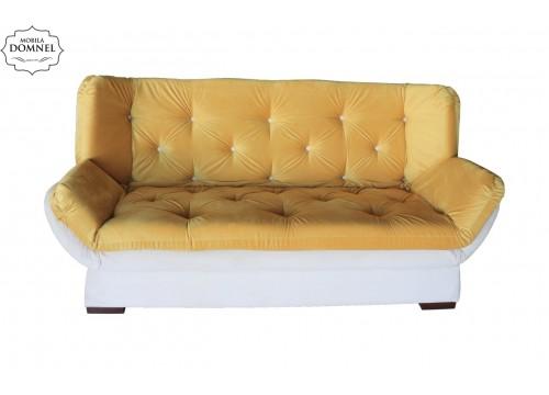 Canapea Extensibila 3 locuri Zara bej/mustar