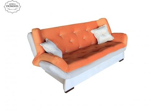 Canapea Extensibila 3 locuri Zara bej/orange